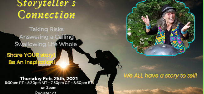 Storyteller's Connection Podcast & Event